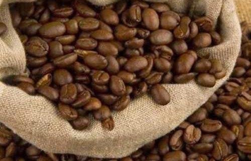 دانه قهوه رست شده