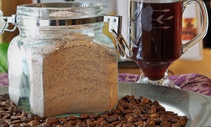 پودر قهوه فوری