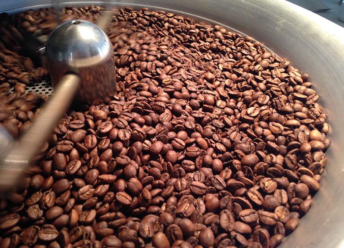 قهوه دانه رست شده