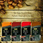پودر قهوه گانودرما