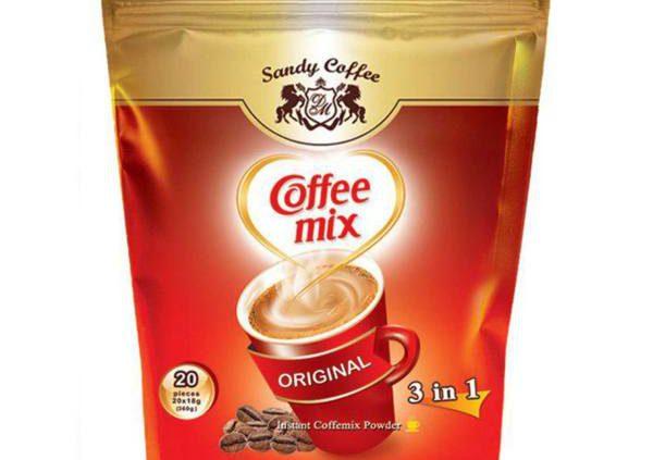 انواع قهوه نسکافه و کافی میکس فله